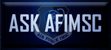 Link to ask AFIMSC a question